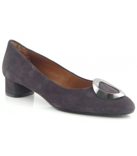 Zapato ante gris mujer