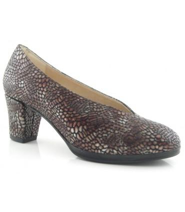 Zapato estampado salón