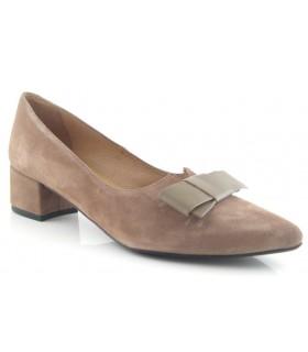 Zapato salón lazo