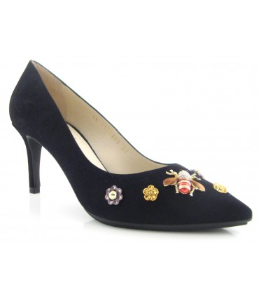 Zapato mujer adorno mosca