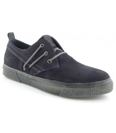 Zapato cordones gris