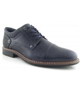 Zapato negro de cordones