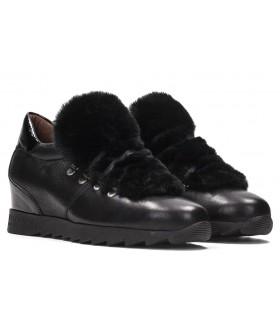 Zapato Cordones mujer HISPANITAS HI87380 NEGRO