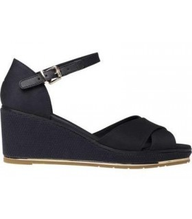 FEMININE MID WEDGE SANDAL BASIC