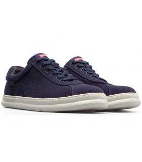 Zapatos de cordones color azul marino