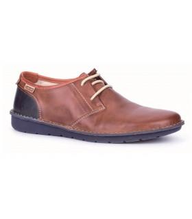 Zapatos de cordones en color cuero