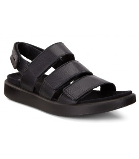 Sandalias de confort con velcro