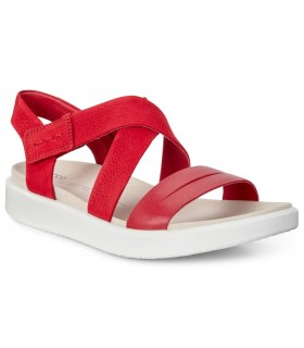 Sandalias rojas de confort