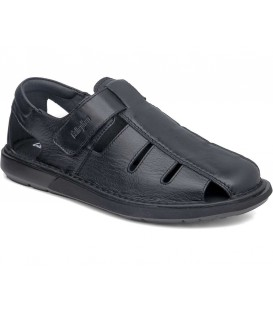 Sandalia para hombre negra