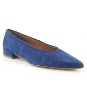 Zapato salón azul klein