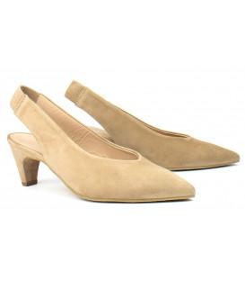 Zapato salón tacón descalzo