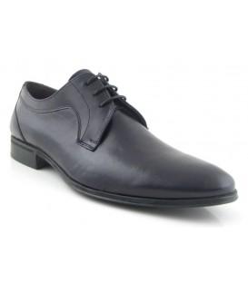 Zapato blucher para vestir en color negro