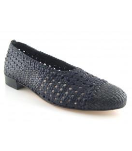 Zapato salón trenzado