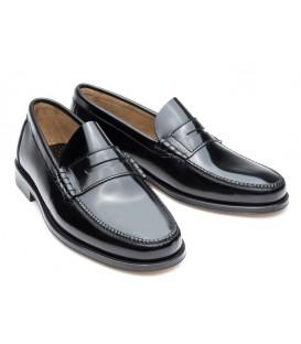 Zapato clásico Castellano de Madrid florentic negro