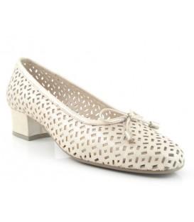 Zapato salón con lazo