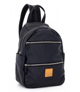 Bolso negro tipo mochila