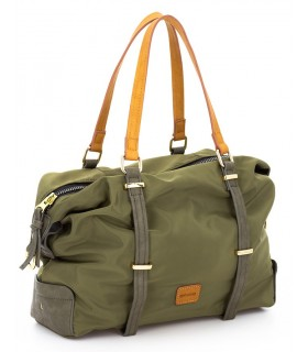 Bolso color verde militar