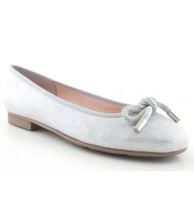 Francesita con lazo para mujer en color plata