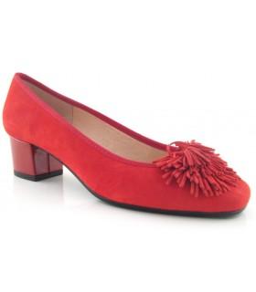 Zapato corte salón con adorno en la pala