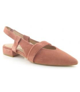 Zapato corte salón destalonado con tiras