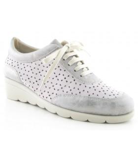 Zapatos de confort para mujer con cordones