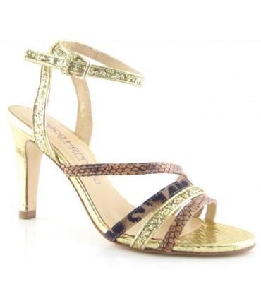 Zapatos de vestir color platino