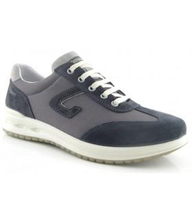 Zapato de confort en color marino