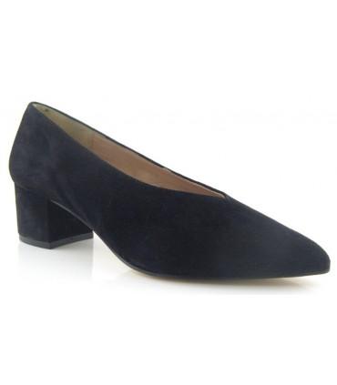 Zapato corte salón sencillo en color negro