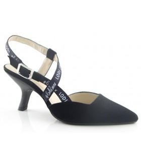 Zapato con tacón chupete en color negro