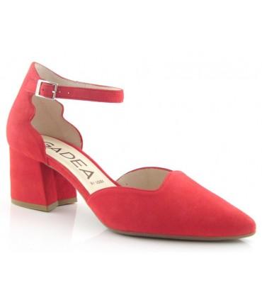 Zapato corte salón con pulsera tobillera