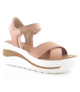 Sandalia con plataforma para mujer