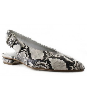 Zapato corte salón de mujer en color serpiente