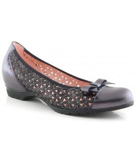 Zapato corte salón con cuña interior