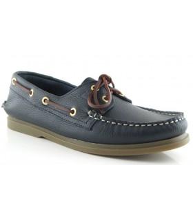 Zapato hombre náutico marino