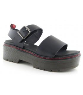 Sandalia plataforma moda