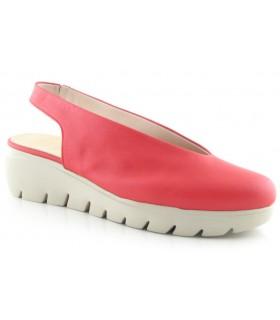 Zapato salón con suela gruesa
