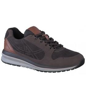 Zapato deportivo con cordones marrón