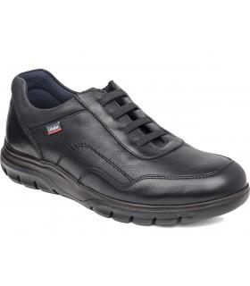 Zapato para hombre con cordones elásticos