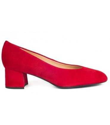 Salón para mujer en color rojo