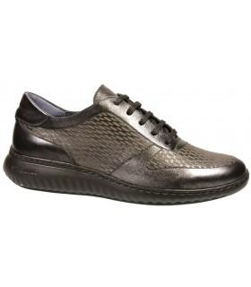 Zapato color grafito de confort