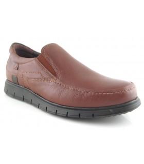Zapatos en color cuero con elásticos