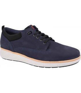 Zapato con cordones y suela gris