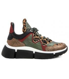 Deportivo de moda estampado leopardo