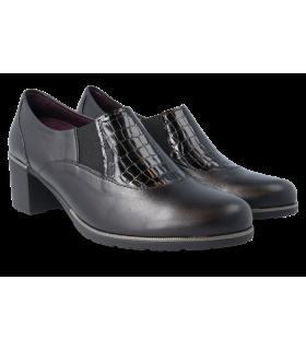 Zapato con elásticos laterales para mujer