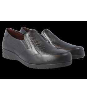 Zapato de confort con elásticos