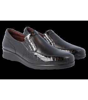 Zapato negro de confort