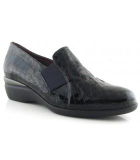 Zapatos de cuña con elástico lateral