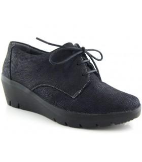 Zapato con cordones en color negro