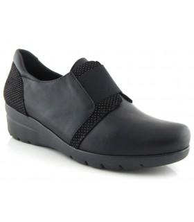 Zapatos sin cordones con elástico en el empeine