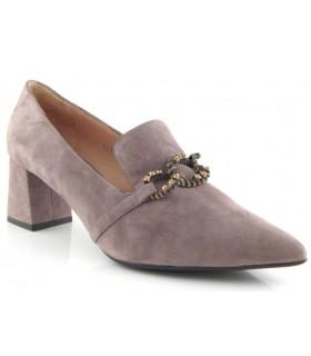 Zapatos de puntera fina con cadena